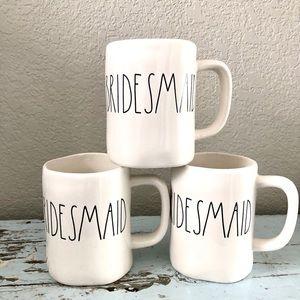 Bridesmaid Rae Dunn mugs SET of 3 New unused